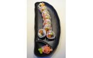 72 - TAMAYAKI  au saumon fumé et omelette japon. - 8 mcx