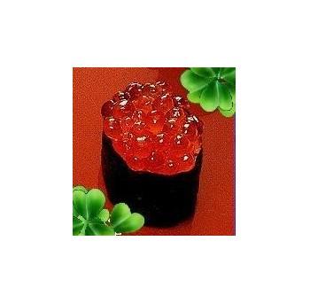 100 - Gunkans massago (oeufs de saumon) et algues vertes - 2 mcx