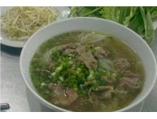 Soupe tonkinoise boeuf et nouilles