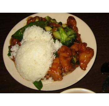 25 - Riz poulet général Tao