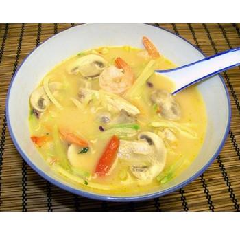 15 - Soupe thai épicée