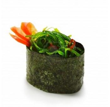106 - Gunkan au saumon frais et algues vertes - 2mcx