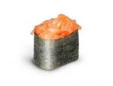 103 - Gunkan au tartare de saumon et won-ton frit - 2mcx